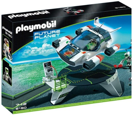 Playmobil Estação E-Rangers Turbo Jet Future Planet Sunny