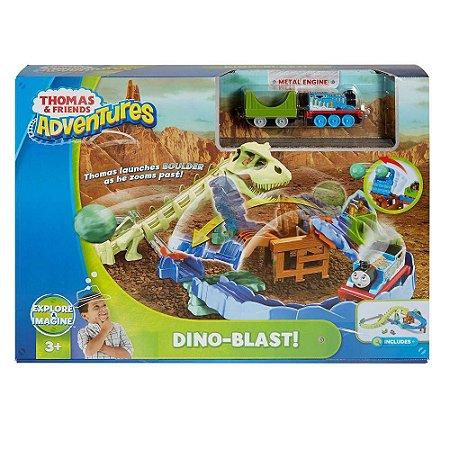 Ferrovia Dino Blast Thomas e Friends Mattel FJP86