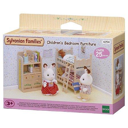 Sylvanian Families Moveis de Quarto de Criança Epoch 4254
