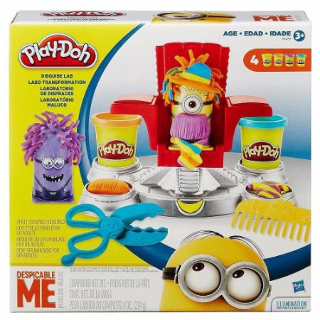 Brinquedo Play Doh Laboratório  Maluco Minions Hasbro B0495