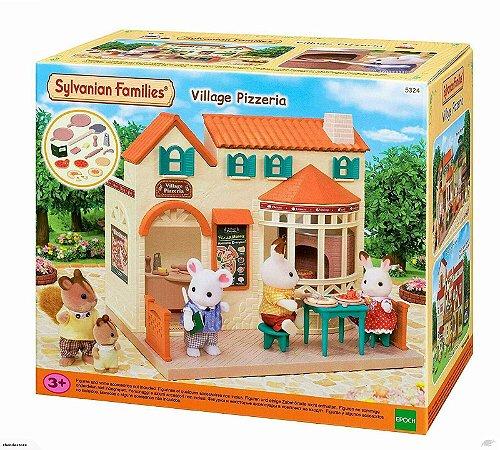 Novo Sylvanian Families Pizzaria Da Vila Epoch 5324