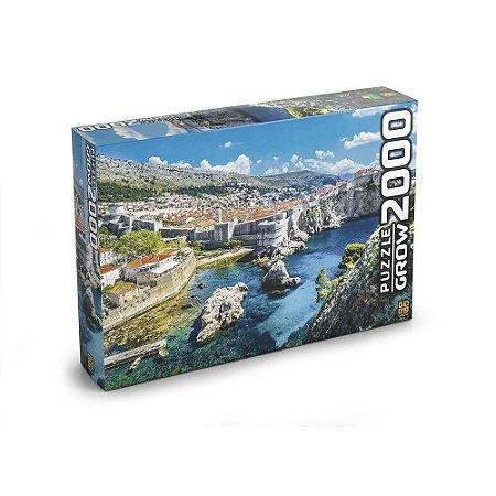 Quebra Cabeça Puzzle Dubrovnik 2000 Peças Grow