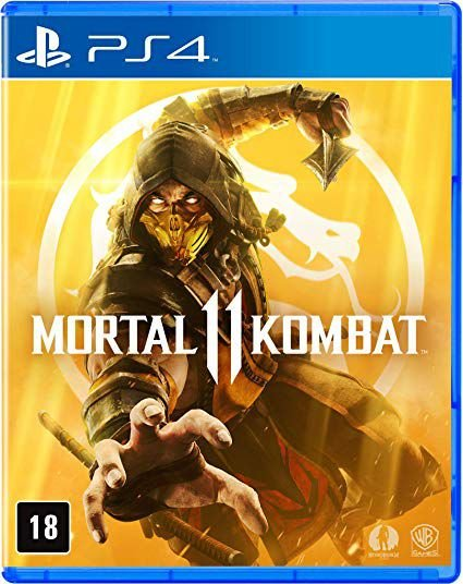 Jogo Mídia Física Mortal Kombat 11 Original Para Ps4