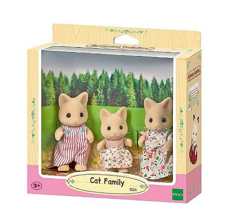 Brinquedo Sylvanian Families Familia dos Gatos Epoch 5126