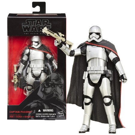 Novo Boneco Star Wars The Black Series Captain Phasma B3840