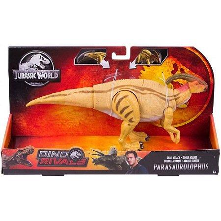 Jurassic World Dino Rival Ataque Duplo Parasaurolophus GDT41