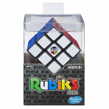 Brinquedo quebra cabeça Jogo RUBIKS CUBO magico Hasbro A9312