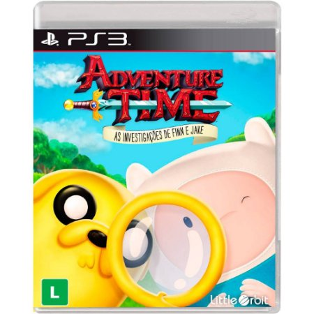 Jogo Novo Adventure Time As Investigações De Finn E Jake Ps3
