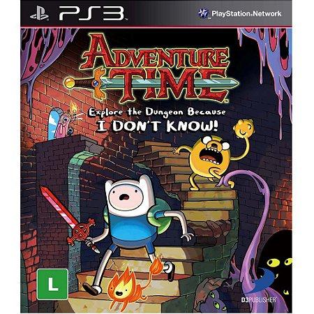 Jogo Novo Adventure Time Explore The Dungeon Para Ps3