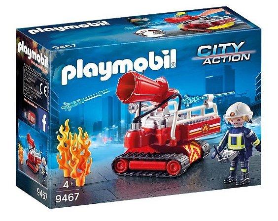 Playmobil City Action Caminhao de Agua dos Bombeiros 9467