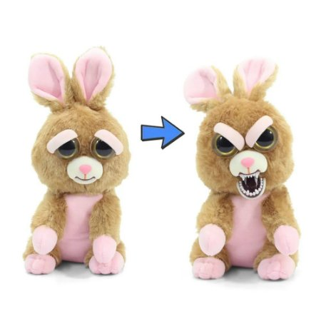 Novo Brinquedo Pelucia Feisty Pets Vicky Vigarista Dtc 4714