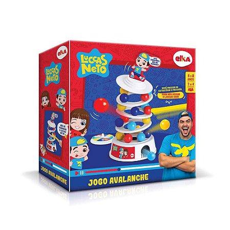 Novo Brinquedo Jogo Avalanche Luccas Neto Elka 1115