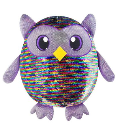 Nova Pelucia Grande Shimmeez Leo Owl Paete Toyng 37476