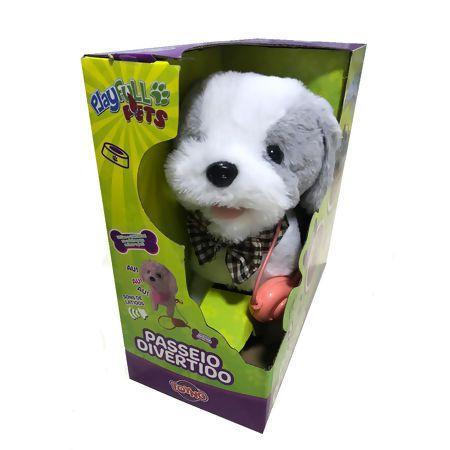 Brinquedo Cachorrinho de Controle Remoto Cinza Toyng 37212