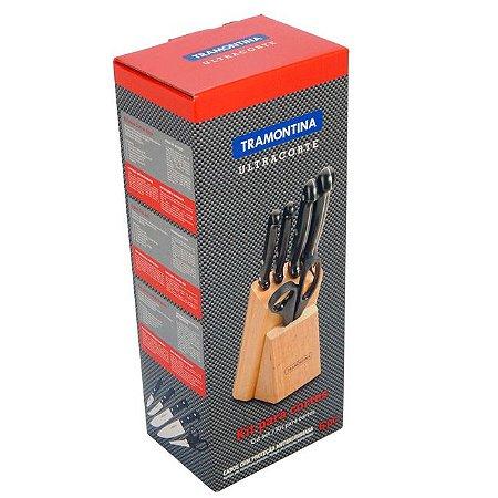 Kit para Cortar Cepo Faqueiro Ultracorte Tramontina 23899