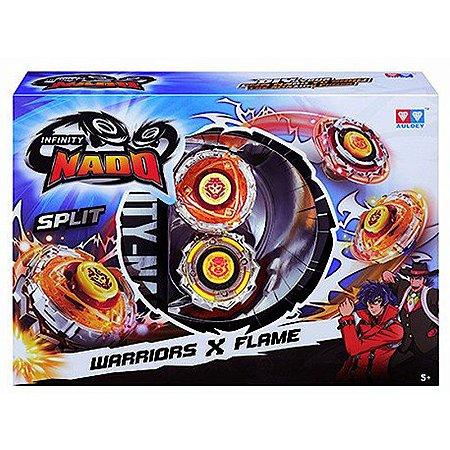 Novo Infinity Nado Warriors e Blast Flame Candide 3903