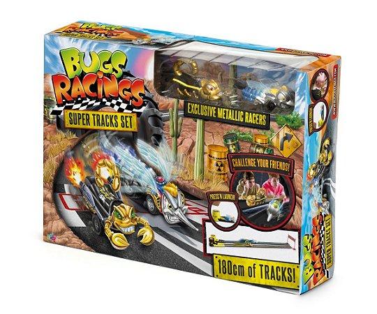 Novo Brinquedo Bugs Racing Superkit com Pista Dtc 5062