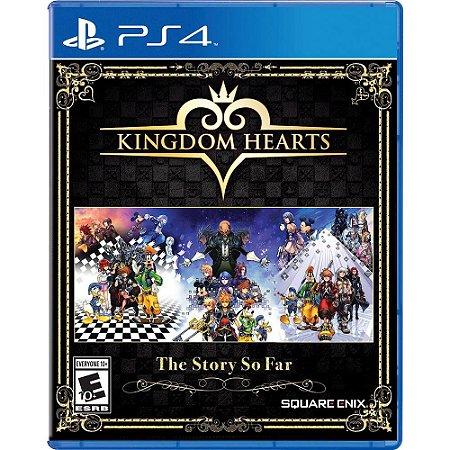 Jogo Midia Física Kingdon Hearts The Story So Far para PS4
