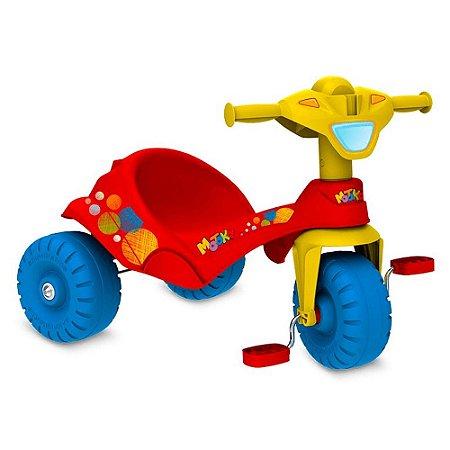 Triciclo infantil Motoka cor Vermelho marca Bandeirante 843