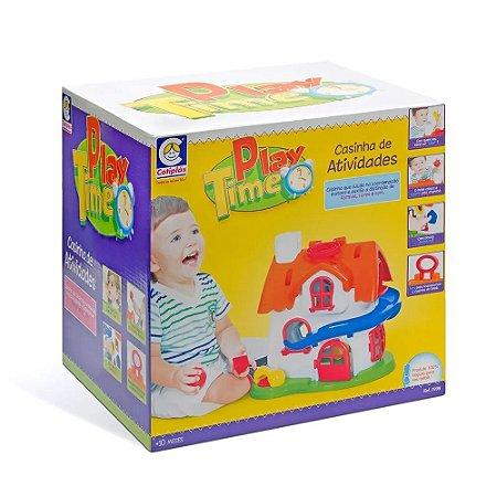 Brinquedo Infantil Play Time Casinha De Atividades Cotiplás