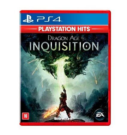 Jogo Mídia Física Dragon Age Inquisition Original Para Ps4