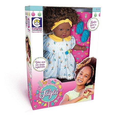 Boneca Tayla 48cm Vestido Sortido Cotiplas 2881