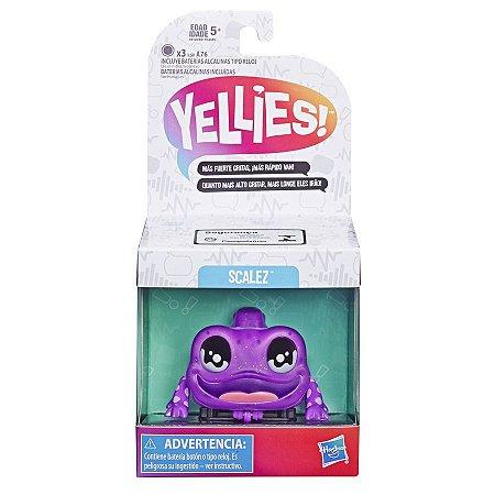 Novo Brinquedo Boneco Yellies Lagarto Scalez Hasbro E6119
