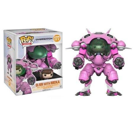 Boneco Vinyl Figure Funko Overwatch D.va With Meka