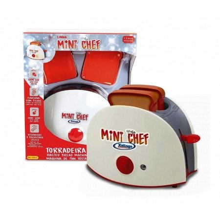 Novo Brinquedo Torradeira Infantil Mini Chef Xalingo 03965