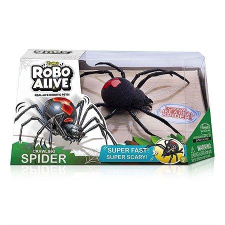Brinquedo Robo Alive Aranha Rastejante Dtc 4835