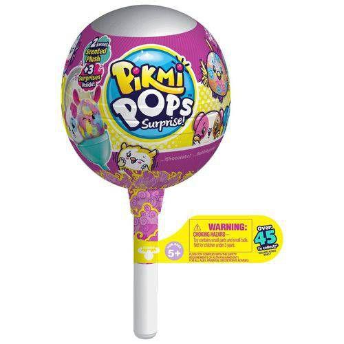 Pikmi Pops Kit Pelúcia Com Supresas Serie 2 DTC 4741