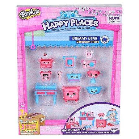 Shopkins Happy Places Kit Decoração Quarto Dos Ursinhos Dtc
