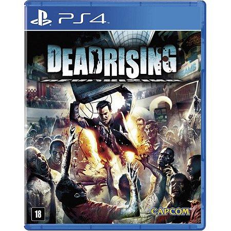 Jogo Lacrado Midia Fisica Dead Rising Remastered para PS4