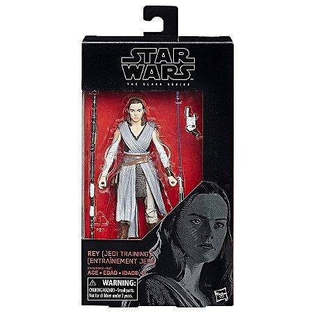 Novo Boneco Star Wars The Black Series Rey Jedi B3834