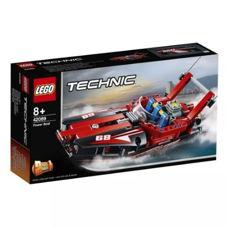 Brinquedo Lego Techinic Super Barco a Motor 174 Peças 42089