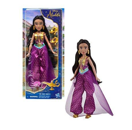 Brinquedo Boneco Aladin Filme Princesa Jasmine Hasbro E5446