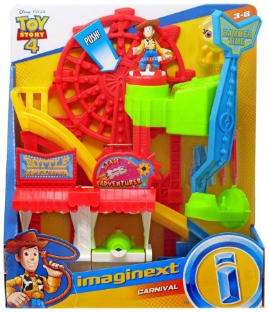 Brinquedo Imaginext Toy Story 4 Parque Divertido Gbg66