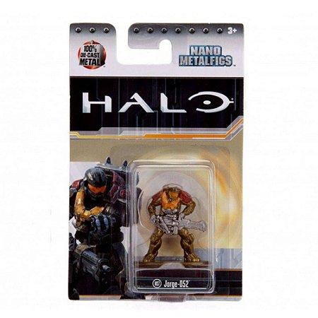 Boneco Colecionável Jorge-Q52 Ms7 Nano Metalfigs Halo Dtc