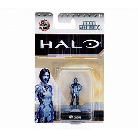 Boneco Colecionável Cortana Ms9 Nano Metalfigs Halo Dtc