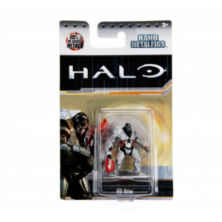 Boneco Colecionável Atriox Ms10 Nano Metalfigs Halo Dtc