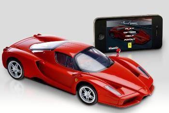 Carro Controle Silverlit Bluetooth Ferrari/porshe Dtc 3160