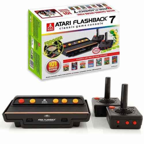Console Atari Flashback 7 Video Game Com Jogos E 2 Controles