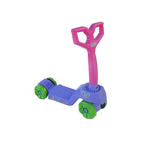 Brinquedo Patinete Infantil Mini Scooty Roxo Calesita 0917