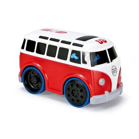Veículos Tunados Kombi Vermelha Com Som Yes Toys 20001