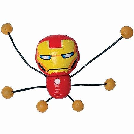 Boneco de Parede Marvel Creepeez Homem de Ferro Candide 5804