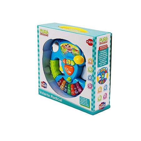 Brinquedo Volante Radical Com Som e Luzes Yes Toys 20087