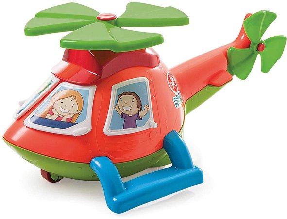 Novo Brinquedo Helicoptero Helico Cor Aleatoria Calesita 728