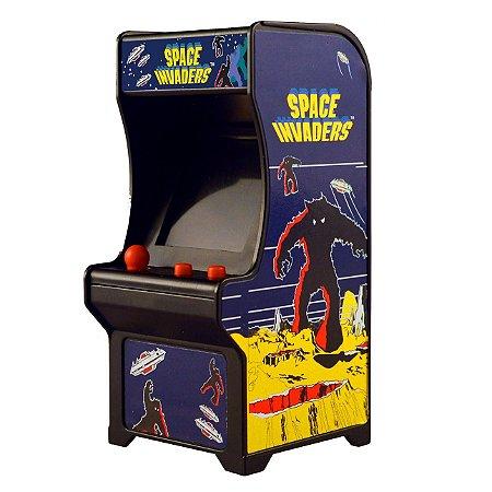 Mini Fliperama Retro Tiny Arcade Space Invaders Dtc 4788