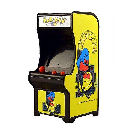 Mini Fliperama Retro Tiny Arcade Classico Pac Man Dtc 4788