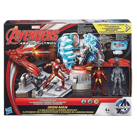 Brinquedo Vingadores Era De Ultron Ataque Ao Laboratório
